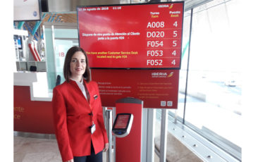Madrid-Barajas Airport improves customer care by issuing turn numbers