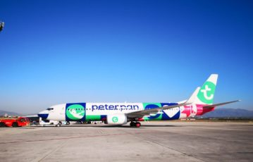 Los compañeros de Mallorca asisten un avión muy especial de Peter Pan Holiday Club